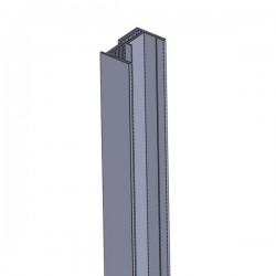 U-Profil 20 mm, 2-Teilig