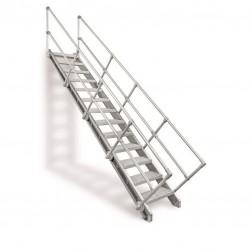 Bausatztreppe Alu für bis...