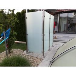 Sichtschutz Fur Gartendusche